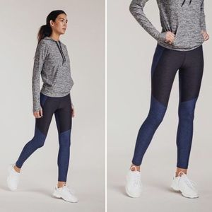 NEW Outdoor Voices Two Tone Warmup Leggings